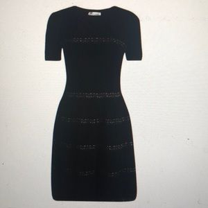 RED VALENTINO RIBBED KNIT DRESS 👗 Size M